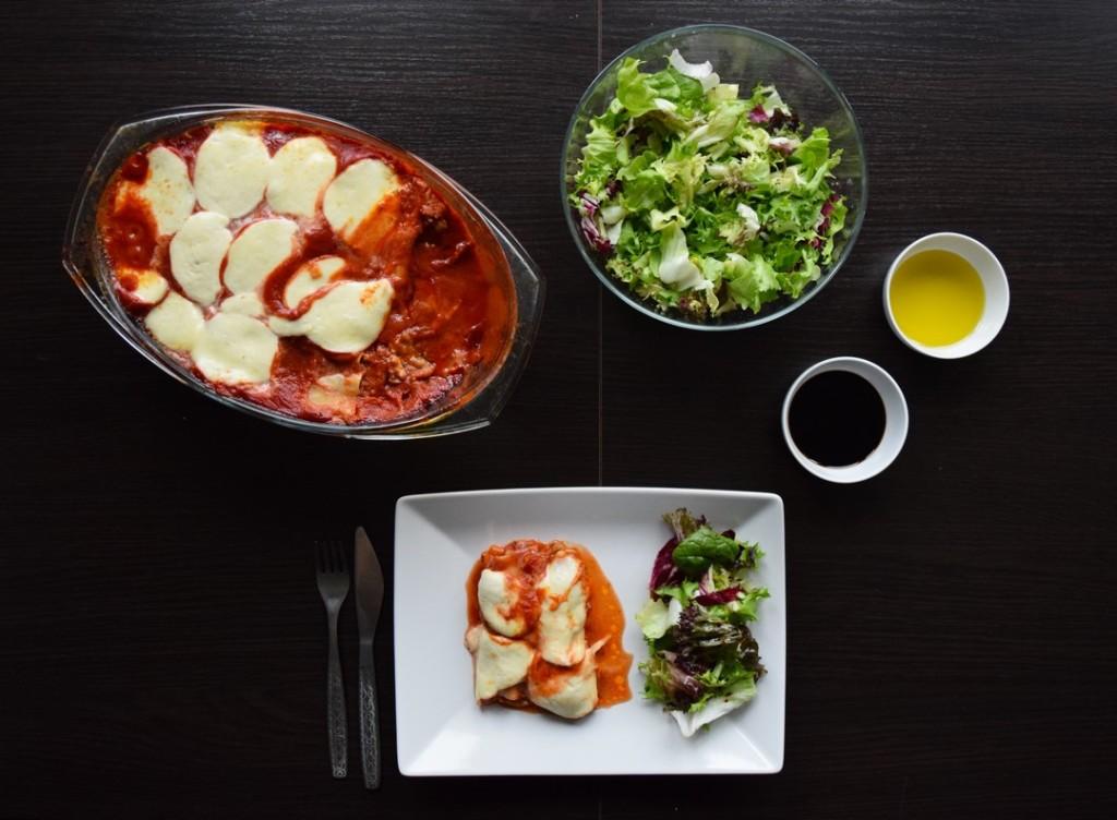 cannelloni z miesem mielonym czerwonym pesto i porem w sosie pomidorowym ciekawostka