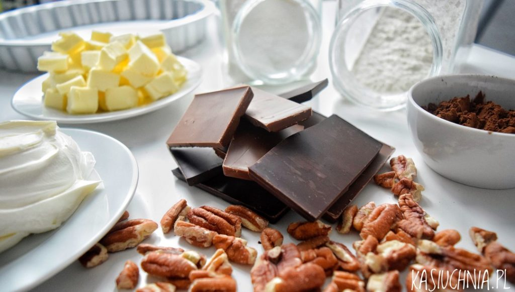 skladniki do tarty czekoladowej