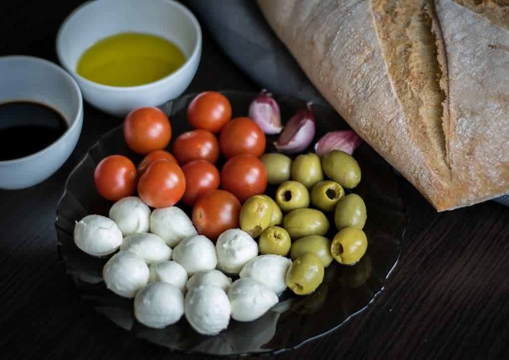 grzanki w włoskim stylu składniki
