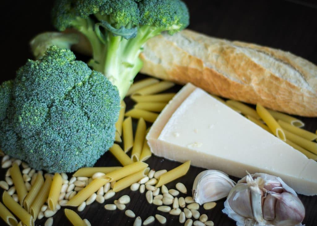 makaron z brokułem składniki