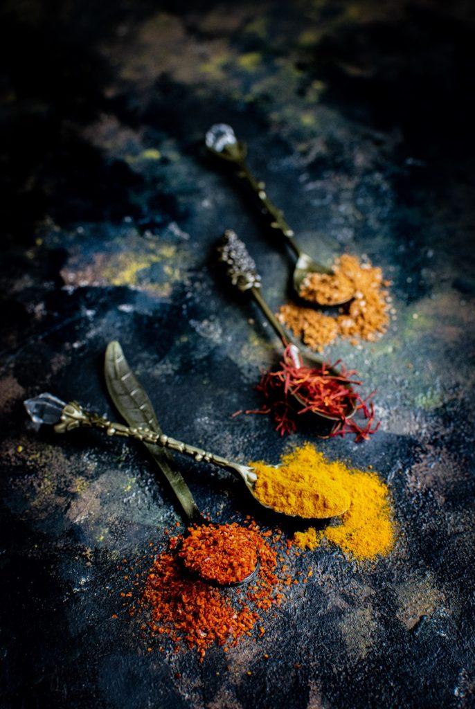 przyprawy - fotografia kulinarna